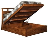 Storage Bed Herron's Amish Furniture