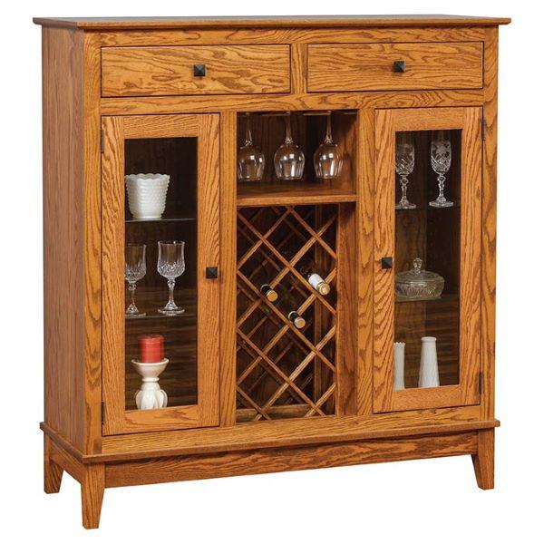 Wine Cabinet Herron's Amish Furniture