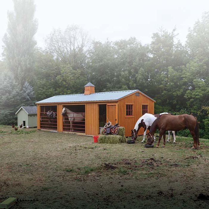 Stables Herron's Amish Furniture