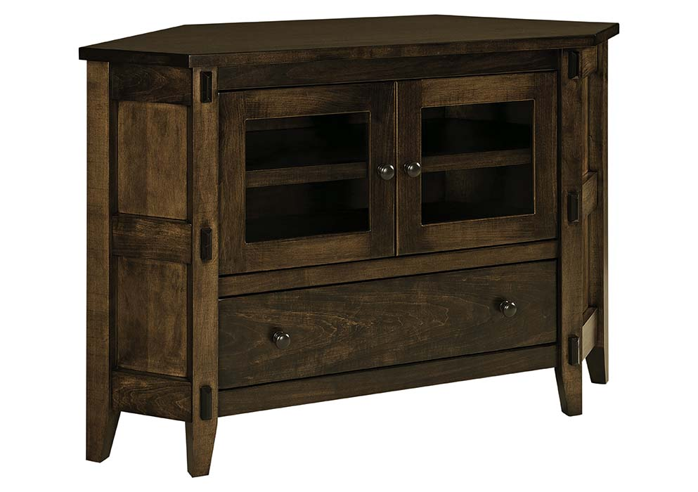 Corner TV Stand Herron's Amish Furniture
