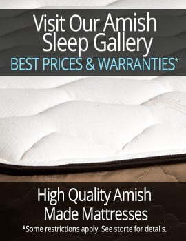 Herron's Amish Furniture Amish Mattress