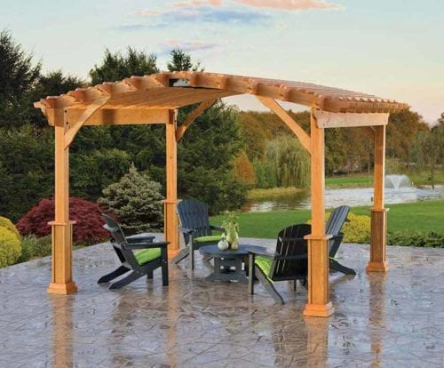 14×14-Wood-Pergola-with-Riveria-top-and-Savannah-posts