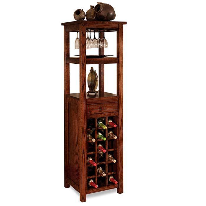 Wine Tower Herron's Amish Furniture
