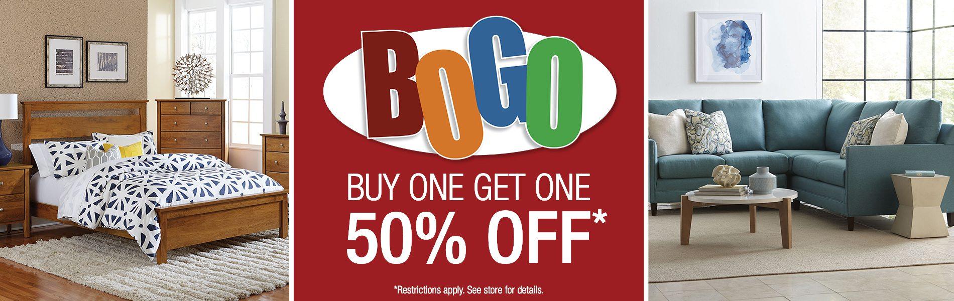 BOGO Sale Bedroom Upholstery